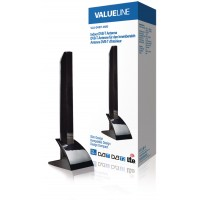 Valueline DVB-T/T2 - DAB+ Binnen Antenne 15 dB VHF / UHF, digitenne