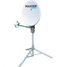 Maxview Precision, schotel 65 cm. op statief met duo lnb