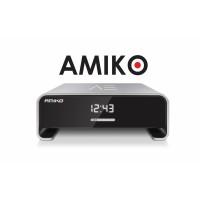 Amiko A3, satelliet en multimedia ontvanger, zwart