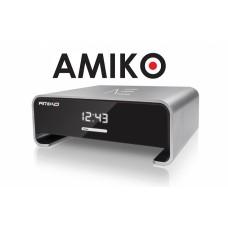 Amiko A3, satelliet en multimedia ontvanger, zilver