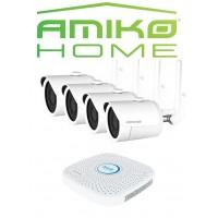 AMIKO HOME CAMERA BEVEILIGINGSSET WiFi 4