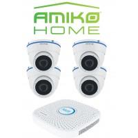 AMIKO HOME IPCAM camera beveiligingsset Dome 4