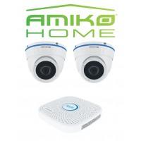 AMIKO HOME IPCAM camera beveiligingsset Dome 2