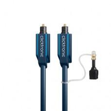 Clicktronic Optische Kabel - advanced series, o,5 meter