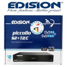 Edision Piccollo BNL Combo satelliet en digitenne ontvanger.