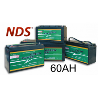 NDS GP 60 Service Accu AGM 12V 60Ah
