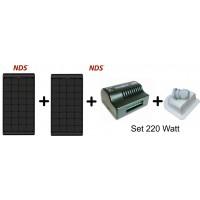 NDS  Zonnepaneel Black SET  KPB220WP