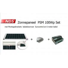 NDS Zonnepaneel 100W Set compleet