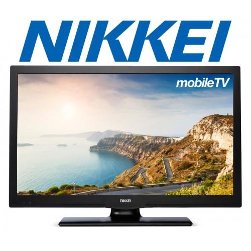 Nikkei Mobiele Televisie nl22mbk full hd LED tv 12 V zwart