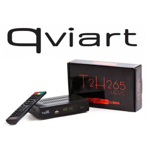 QVIART T2H265 DVB-T2 digitenne hd ontvanger