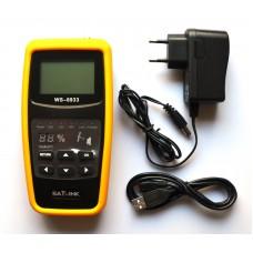 Satlink Satmeter WS-6933 HD met Full Color Display