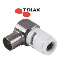 Triax coaxkabel connector koswi 4 male