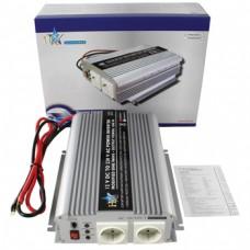 Omvormer 12 - 230 V - 1000 W