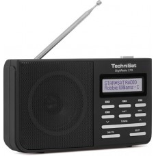 TechniSat DAB+ DigitRadio 210 zwart
