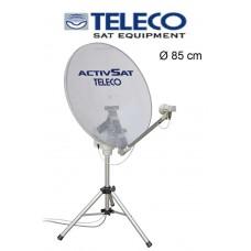 Teleco Activsat 85 Smart DiSEqC Transparant 85cm