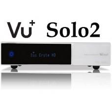 VU+ Solo2 - White Edition, satelliet ontvanger met 1 tb hdd