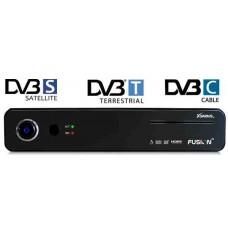 Xsarius Fusion HD SE Full HD Twin PVR ontvanger, satelliet, digitenne en kabel-tv