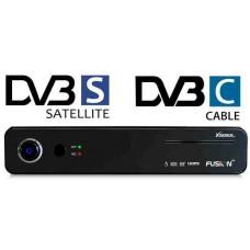 Xsarius Fusion HD SE Full HD Twin PVR ontvanger, satelliet en kabel tuner